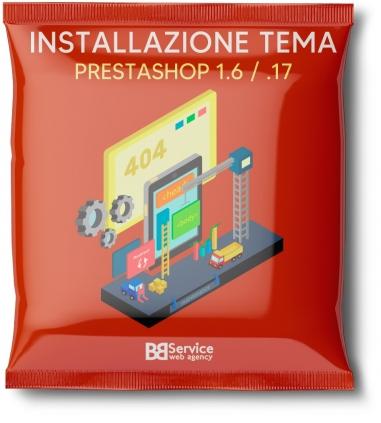 Installazione tema PrestaShop