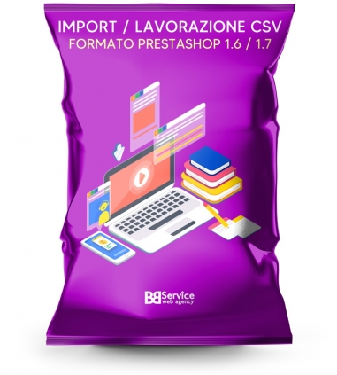 Import csv Prestashop catalogo...