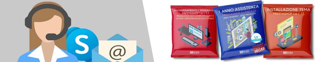 Pacchetti di assistenza PrestaShop