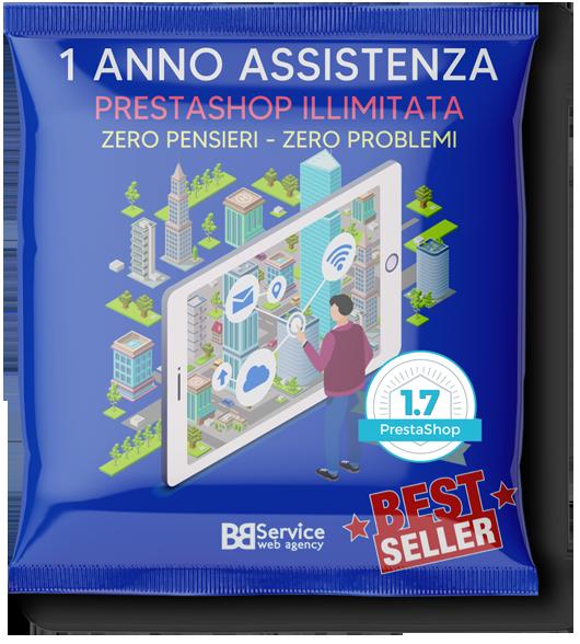 Assistenza PrestaShop per 1 anno Zero Pensieri